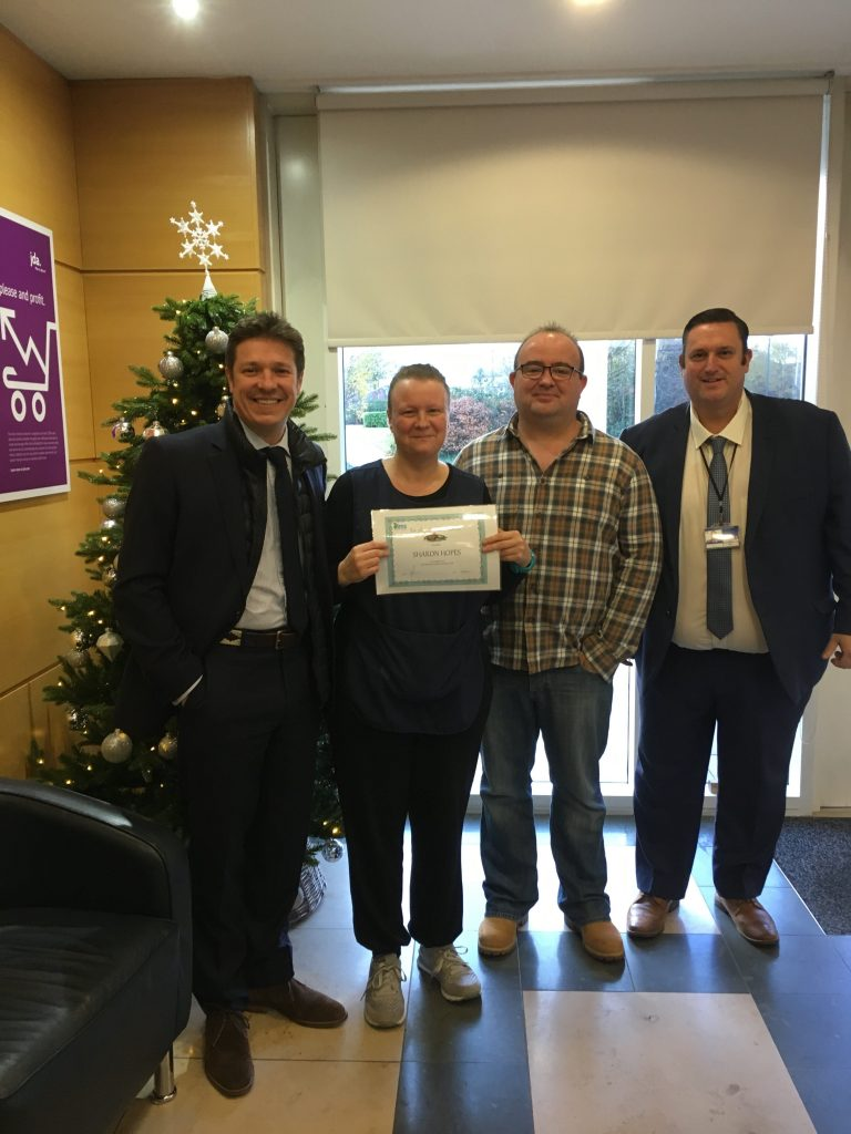 December 2017 Employee of the Month - Daily Office Cleaning Services Bracknell, Berkshire